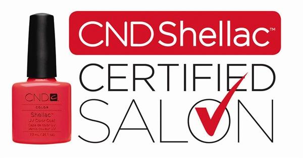 Studio Y-nique is CND™ Shellac™ Certified Salon