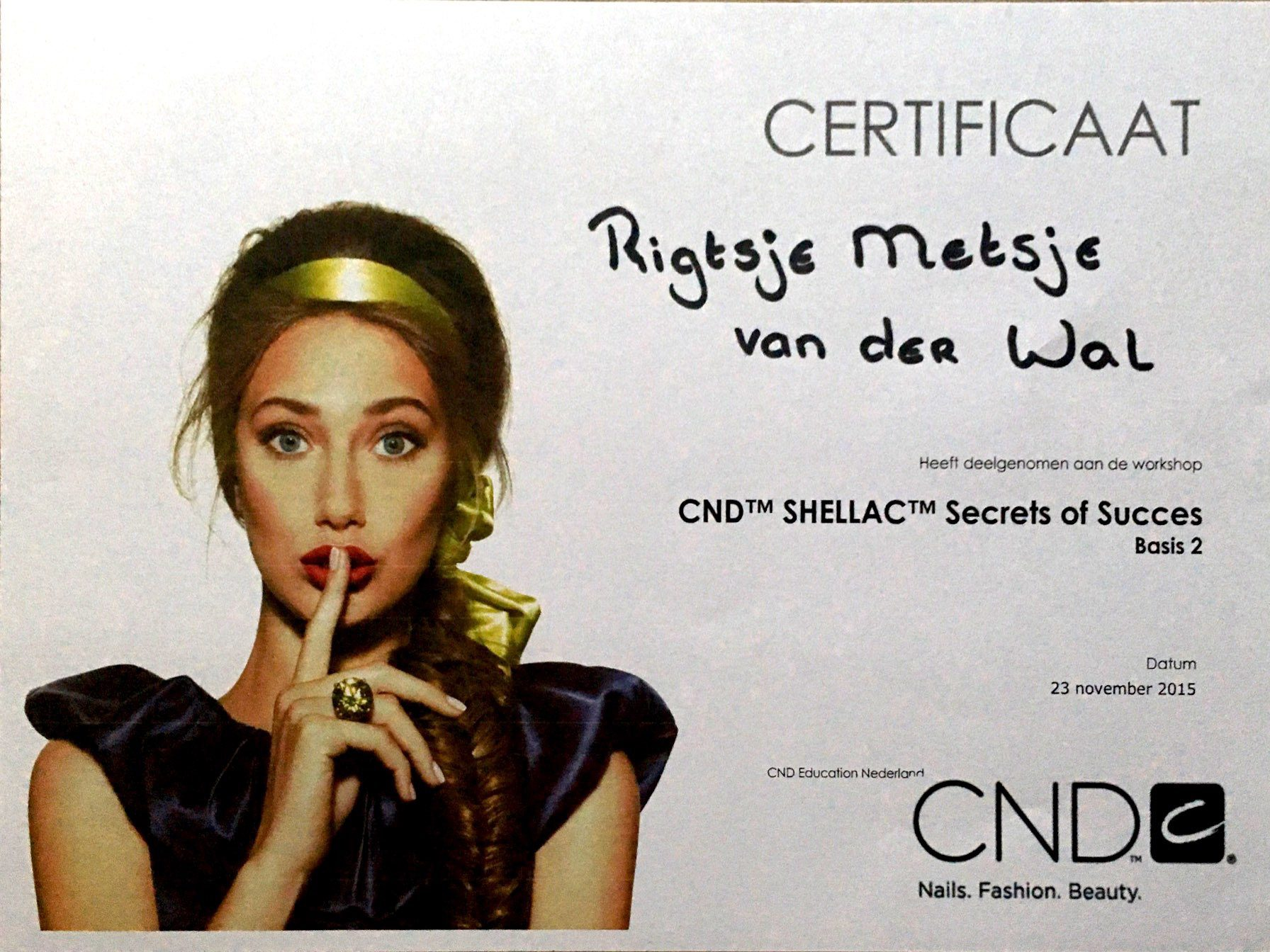 CND Shellac ''Secrets of Succes''