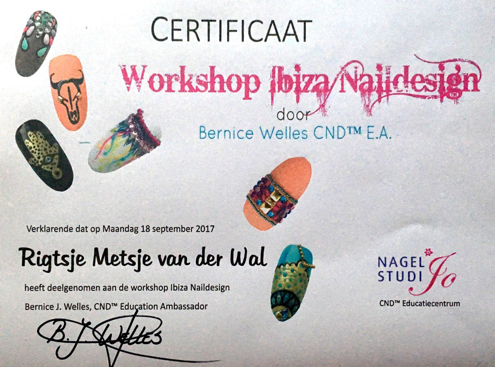 Workshop Ibiza Naildesign